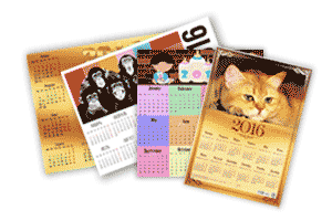 Печать и изготовление календарей в типографии